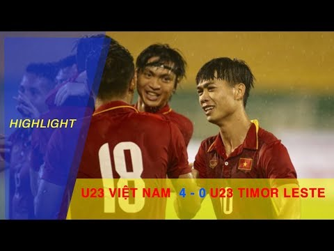U23 VIỆT NAM vs U23 TIMOR LESTE | BẢNG I VÒNG LOẠI VCK U23 CHÂU Á 2018