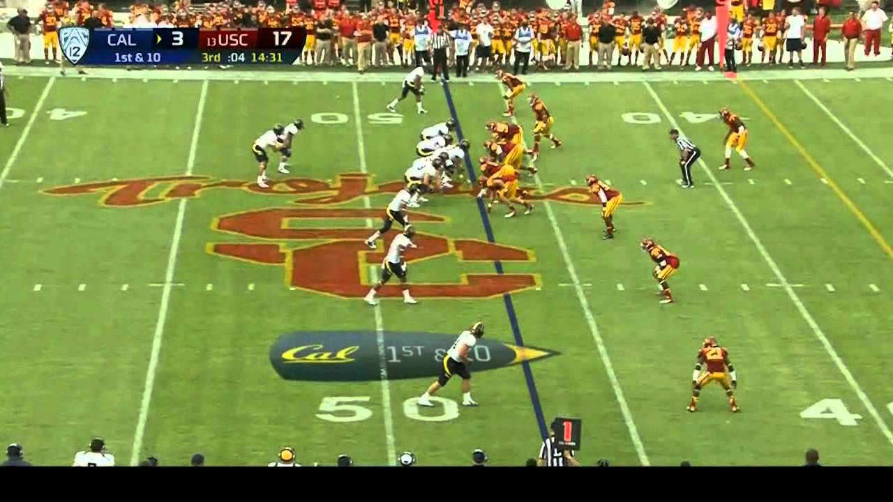 Morgan Breslin vs Cal (2012)