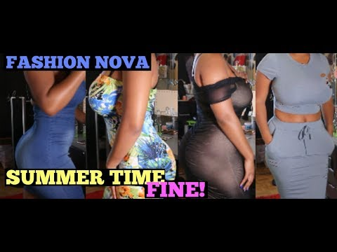 Summer Time Fine:  FASHION NOVA TRY-ON HAUL | HEYPARIS