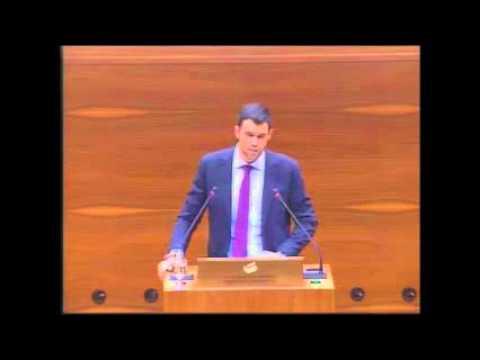 Javier García critica la paralización del Canal de Navarra e insta al Gobierno a ejecutar la 2ª fase