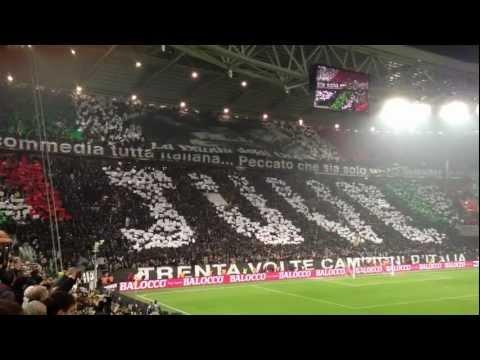 inno cantato dai tifosi allo juventus stadium