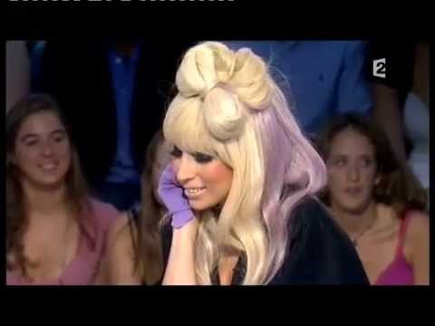 Lady Gaga - On n'est pas couché 12 septembre 2009 #ONPC