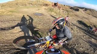 3. Sherco 250 factory gasgas racing 2019 scorpa beta evo trials uk back cowm