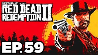 Red Dead Redemption 2 Ep.59 - HONOR DISCOUNT, ROBBING A WAGON, CAMP UPGRADES (Gameplay / Let's Play)