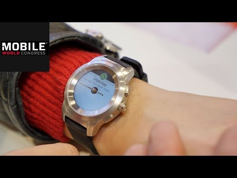 MyKronoz ZeTime Petite: Kleinere Smartwatch vorgestellt