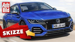 VW Arteon Shooting Brake (2020): Neuvorstellung - Kombi - Infos by Auto Bild
