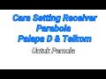 Cara setting reciever Parabola Palapa D dan Telkom pemula