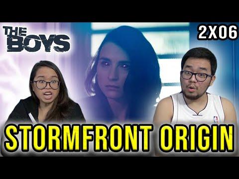 THE BOYS Season 2 Episode 6 REACTION STORMFRONT'S ORIGIN REVIEW