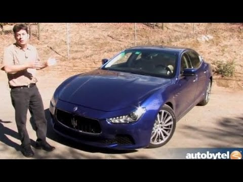 2014 Maserati Ghibli S Q4 Test Drive Video Review