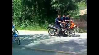 โซนิคลูก boss vs เรดเดอร์150 cc vs แดช