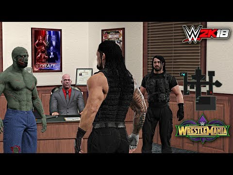 WWE 2K18 Custom Story - The Shield Calls Out Mysterious Man ft. Lesnar (Story/Concept) P- 2