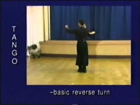 Tango dance steps 29  Basic reverse turn