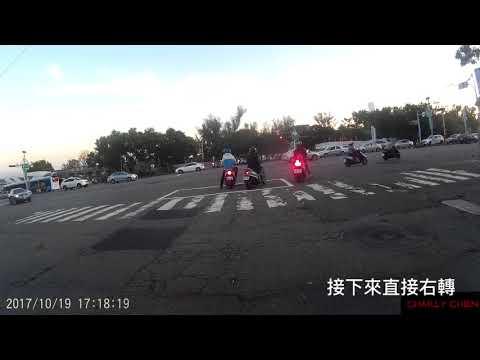 台中市 台灣大道四段 汽機車車禍