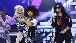 Maria Buza si Pepe vs  LMFAO si GoonRock - Party Rock