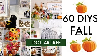 🍁60 DIY DOLLAR TREE DECOR CRAFTS TUTORIAL 2019 🍁
