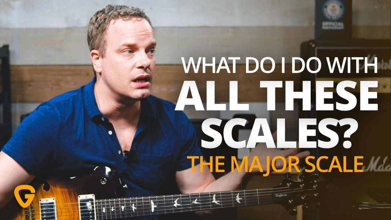 What Do I Do With All These Scales – The Major Scale