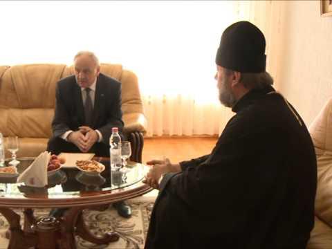 Președintele Nicolae Timofti a avut o întrevedere cu ÎPS Vladimir, mitropolitul Chișinăului și al Întregii Moldove
