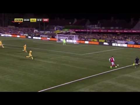 Sutton 0-2 Arsenal FA Cup Highlights 2017