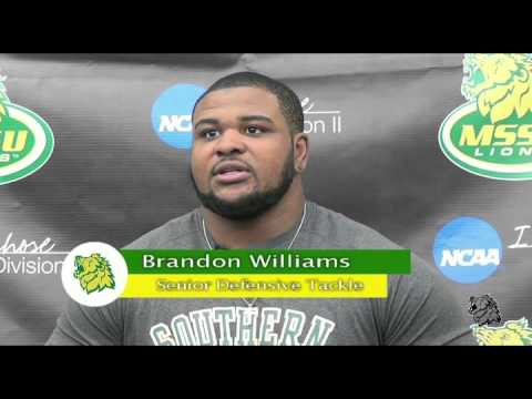 Brandon Williams Press Conference Week 10