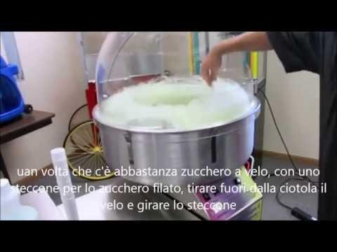 Macchina per lo zucchero filato professionale - Spin Magic