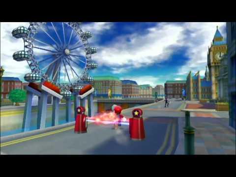 Mario y Sonic en los Juegos Olímpicos de Londres 2012