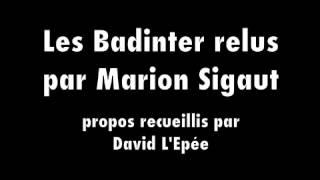 Video Les Badinter relus par Marion Sigaut MP3, 3GP, MP4, WEBM, AVI, FLV Mei 2017