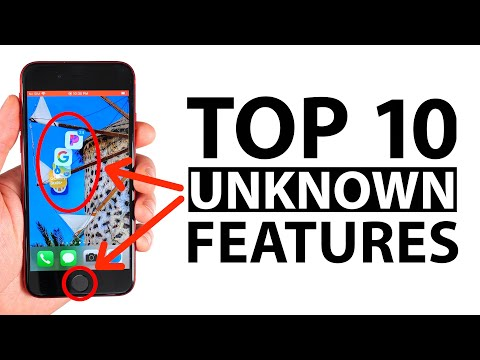 Top 10 Unknown iPhone SE Features! (iOS 13.4.1)