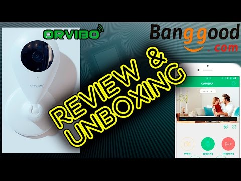 UNBOXING ORVIBO IP Camera Wireless Infrared Night Vision for Smart Home [Banggood]