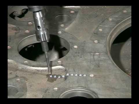 Cast Iron Crack repair (видео)