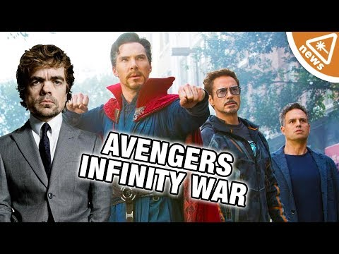 Peter Dinklage's Role in Avengers Infinity War Revealed! (Nerdist News w/ Jessica Chobot)