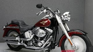 10. 2005  HARLEY DAVIDSON  FLSTFI FAT BOY- National Powersports Distributors