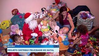 Grupo de Bauru arrecada brinquedos para distribuir a crianças carentes no Natal