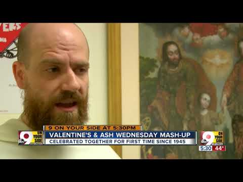 Valentine's Day, Ash Wednesday fall on same day for first time since 1945