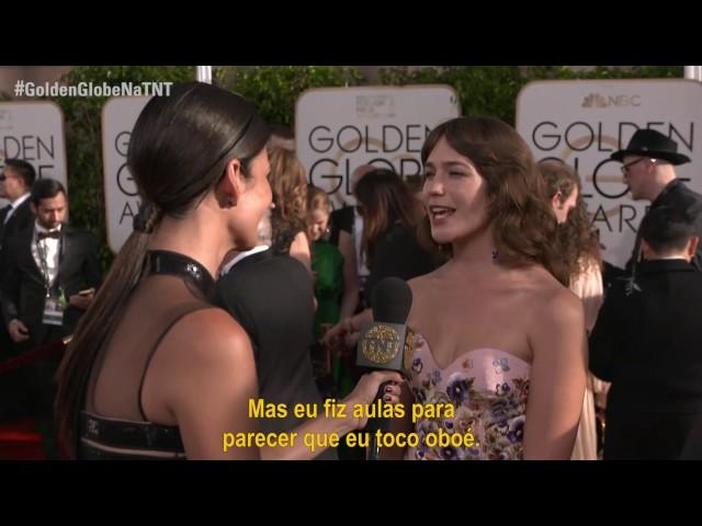 #GoldenGlobeNaTNT | Entrevista com Lola Kirke