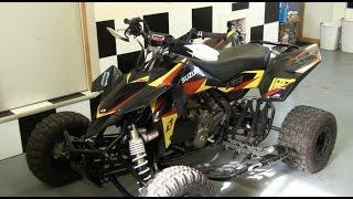 10. Suzuki LTR 450 Oil Change