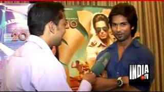 India Tv exclusive interview with Sahid Kapoor for Phata Poster Nikla Hero