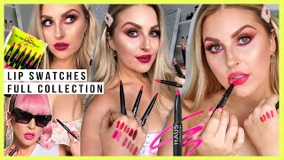 NEW Le Monster Matte Lip Crayons! 🖍️ FULL COLLECTION LIP SWATCHES 💞 by Shaaanxo