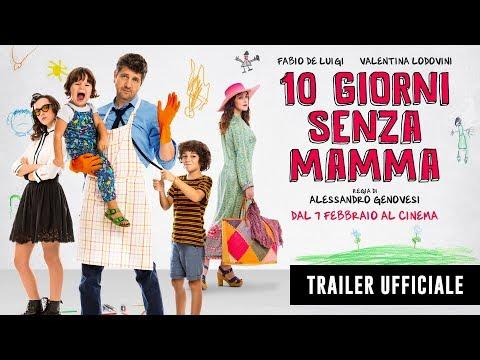 Preview Trailer 10 giorni senza mamma, trailer ufficiale