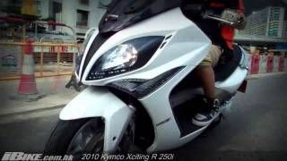 8. 2010 Kymco Xciting R 250i 本地試騎