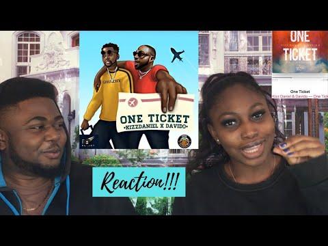 Kizz Daniel & Davido - One Ticket (Reaction /w Bestie)