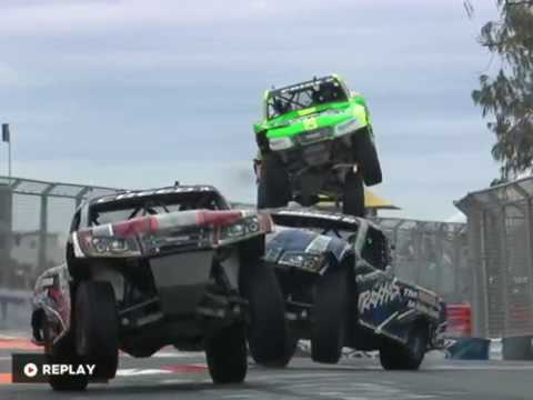 The things that happens to Stadium Super Trucks are beyond insane and looks almost unreal.