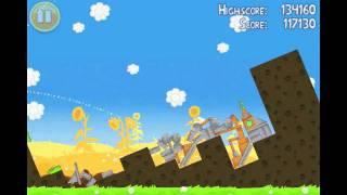 Angry Birds Seasons Summer Pignic Level 14 Walkthrough 3 Star