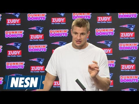 Video: Rob Gronkowski Patriots vs. Chiefs Week 6 Wednesday Press Conference