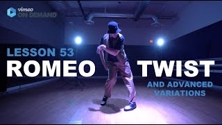 JRock – ROMEO TWIST (ENTIRE SOLO WITH VARIATIONS)
