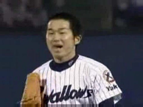 Japons jugador de baseball casi se hace pipi