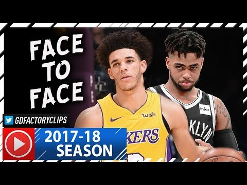 Lonzo Ball vs D'Angelo Russell PG Duel Highlights (2017.11.03) Lakers vs Nets - FACE to FACE! - Thời lượng: 4:33.