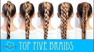 Video HOW TO BRAID FOR BEGINNERS! 🖐🙌 MP3, 3GP, MP4, WEBM, AVI, FLV Juli 2018