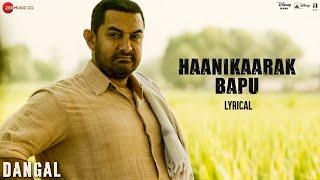 Haanikaarak Bapu Video Lyrical Song Dangal Aamir Khan