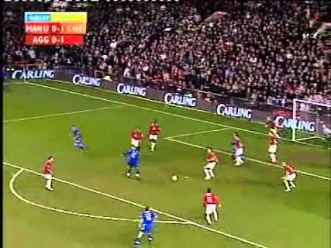 Man.Utd v Chelsea 2nd Leg Carling Cup Semi-Final Season 2004-5