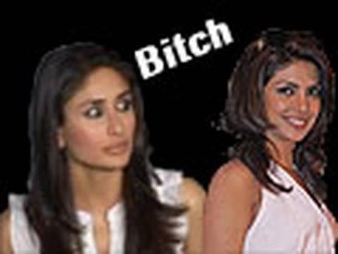 Priyanka Kareena Fight - New Bollywood gossip